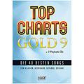 Sångbok Hage Top Charts Gold 9