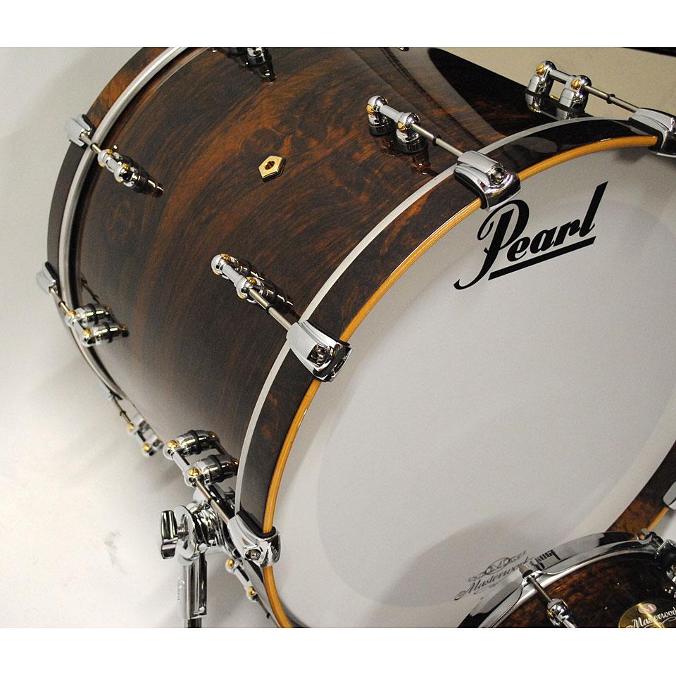 pearl masterworks artisan 22 natural imbuya drum kit. Black Bedroom Furniture Sets. Home Design Ideas