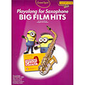 Play-Along Music Sales Big Fim Hits for Alto Sax