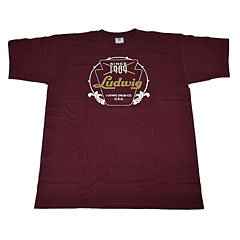 Ludwig Red Badge/Vintage Logo M « T-Shirt