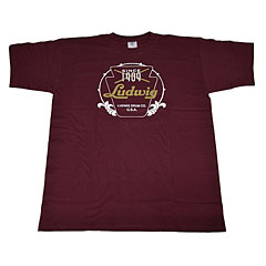 Ludwig Red Badge/Vintage Logo L « T-Shirt