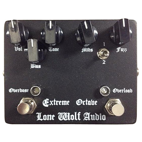 Effektgerät E-Gitarre Lone Wolf Audio Overdose Overload