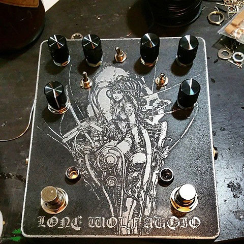 Pedal guitarra eléctrica Lone Wolf Audio Analog Synth