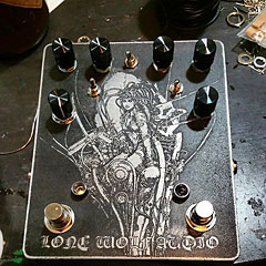 Lone Wolf Audio Analog Synth « Pedal guitarra eléctrica