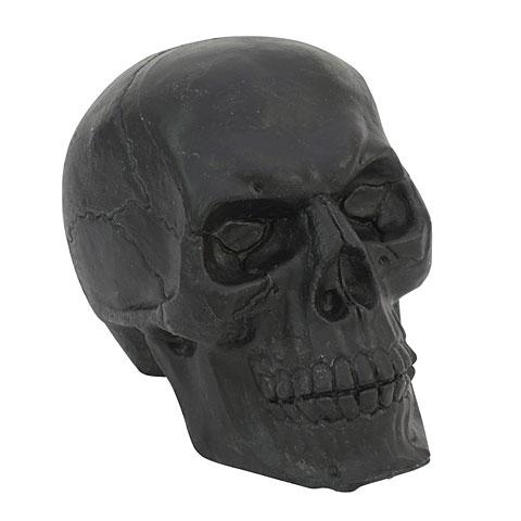Europalms Totenschädel, schwarz