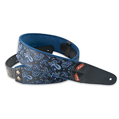 RightOn! Straps Mojo Paisley blue « Gitarrengurt