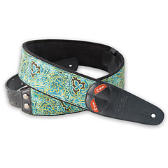 RightOn! Straps Mojo Senegal teal « Correas guitarra/bajo