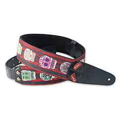 RightOn! Straps Mojo Skulls « Sangle guitare/basse