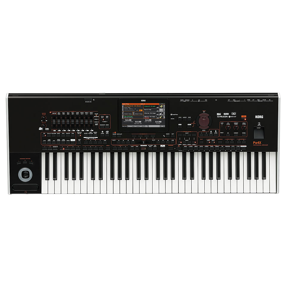 Homekeyboards - Korg Pa4X International 61 Keyboard - Onlineshop Musik Produktiv