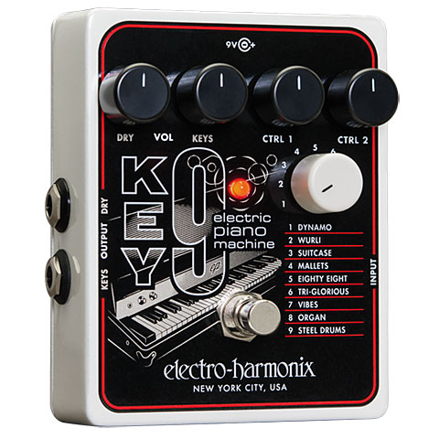Pedal guitarra eléctrica Electro Harmonix Key9 Piano Machine