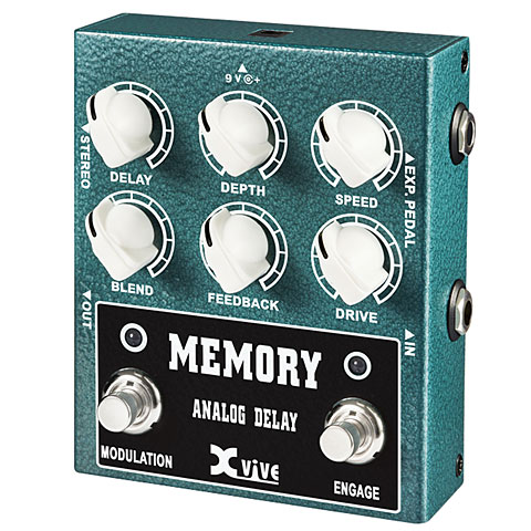 Effektgerät E-Gitarre Xvive W3 Memory Analog Delay