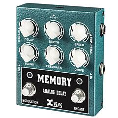 Xvive W3 Memory Analog Delay « Effets pour guitare électrique