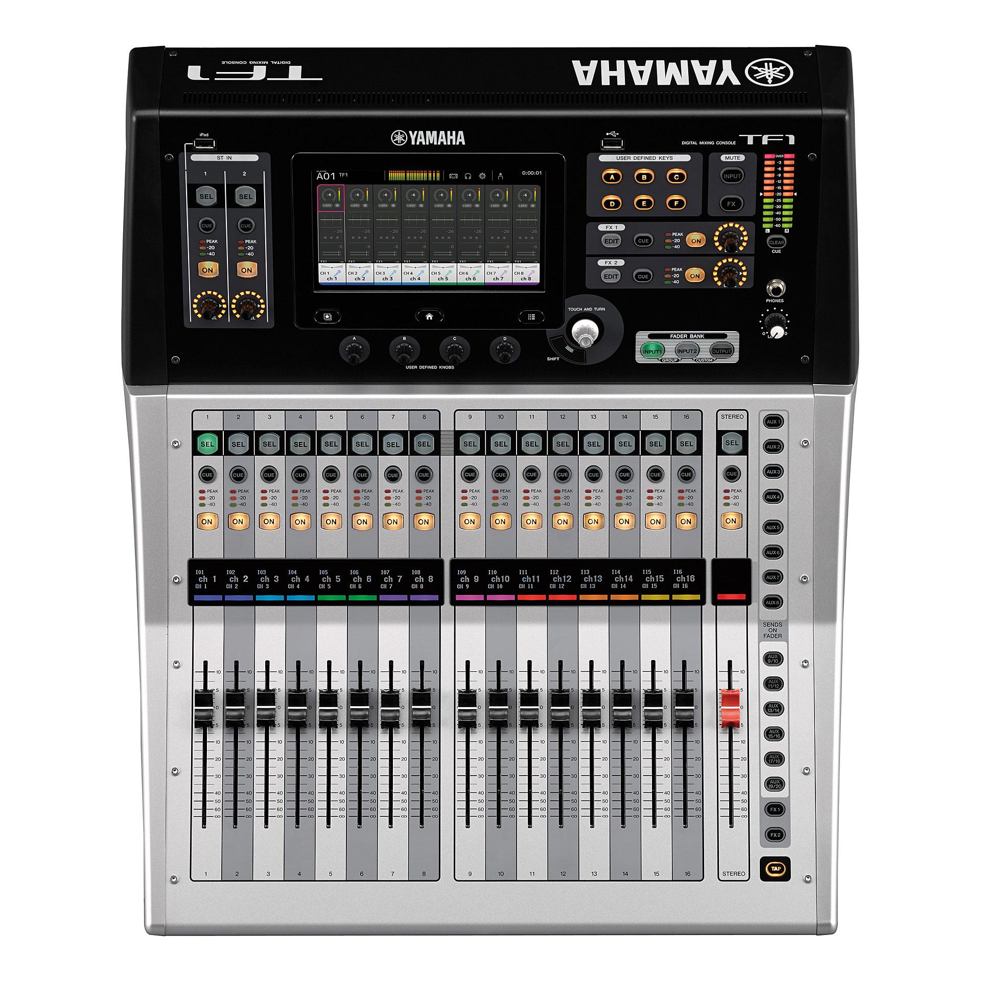 Yamaha tf 1 console de mixage num rique - Console de mixage numerique ...