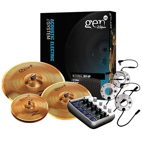 E-Drum Set Zildjian Gen16 14/18/20 Electronic Cymbal Set