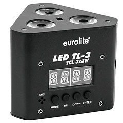 Eurolite LED TL-3 TCL 3x3W Trusslight « Lámpara LED