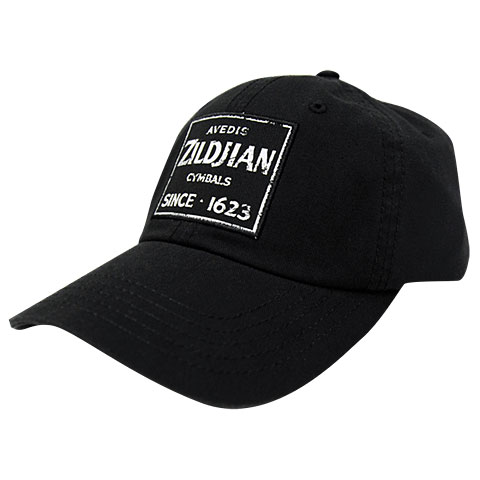 Zildjian T4631 Black Baseball Cap Quincy Vintage Sign