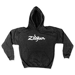 Zildjian Classic T7101 Black Hoodie White Logo S « Hood