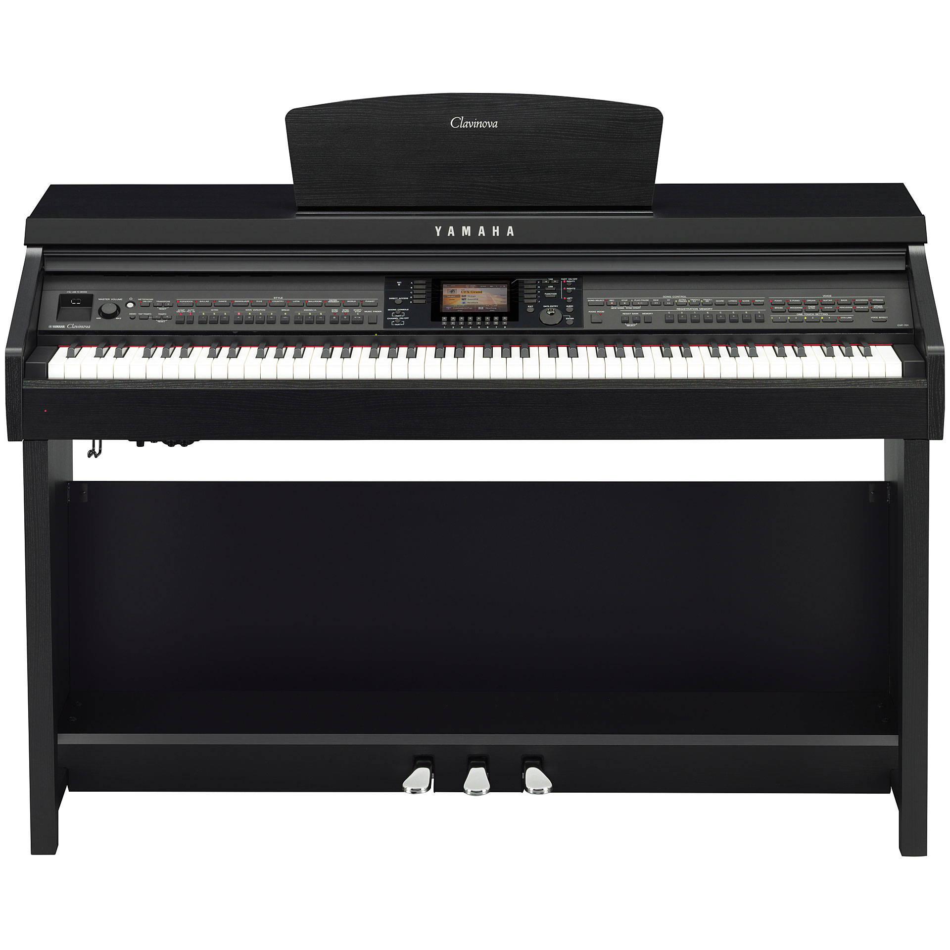 yamaha clavinova cvp 701 b piano num rique. Black Bedroom Furniture Sets. Home Design Ideas