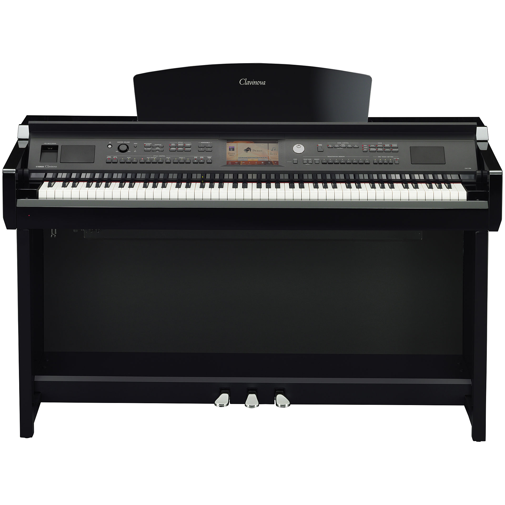 yamaha clavinova cvp 705 pe piano num rique. Black Bedroom Furniture Sets. Home Design Ideas