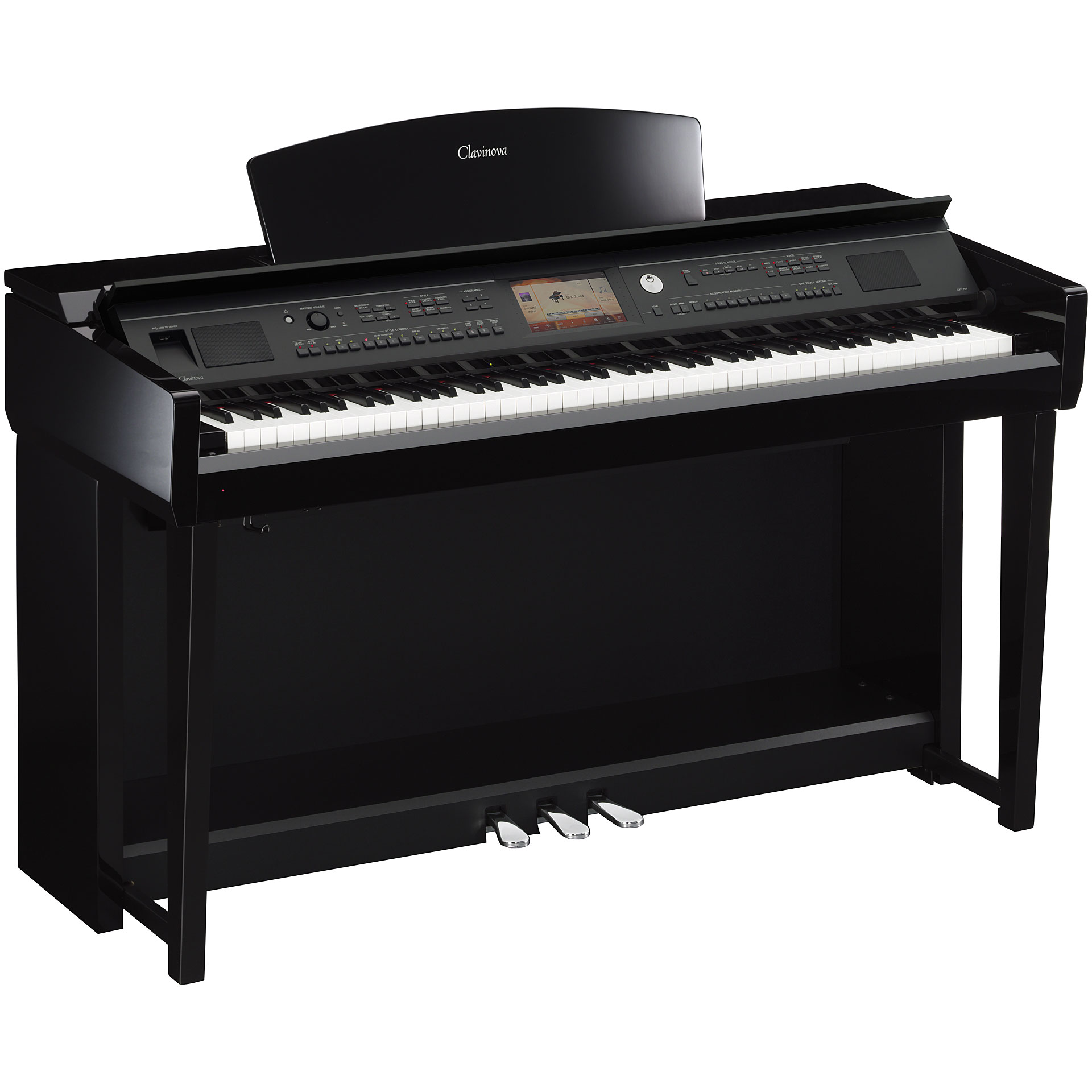 yamaha clavinova cvp 705 pe digital piano. Black Bedroom Furniture Sets. Home Design Ideas