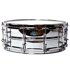 "Ludwig Supralite Beaded Steel 14"" x 5,5"" Snare Drum « Snare"