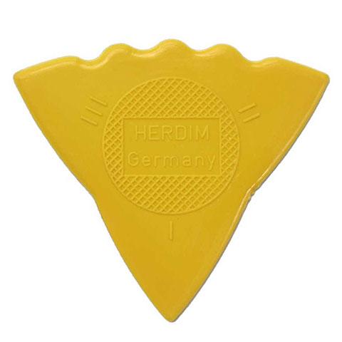Plektrum Herdim 3-Gauge Pick Yellow Nylon (12 pcs)