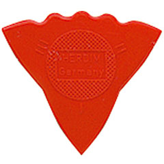 Herdim 3-Gauge Pick Red Nylon (12 pcs) « Plectrum