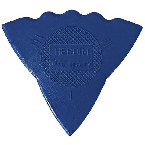 Plectrum Herdim 3-Gauge Pick Blue Nylon (12 pcs)