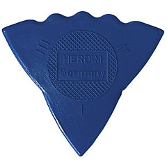 Herdim 3-Gauge Pick Blue Nylon (12 pcs) « Plectrum