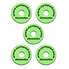 Cympad Chromatics Green « Übungspad
