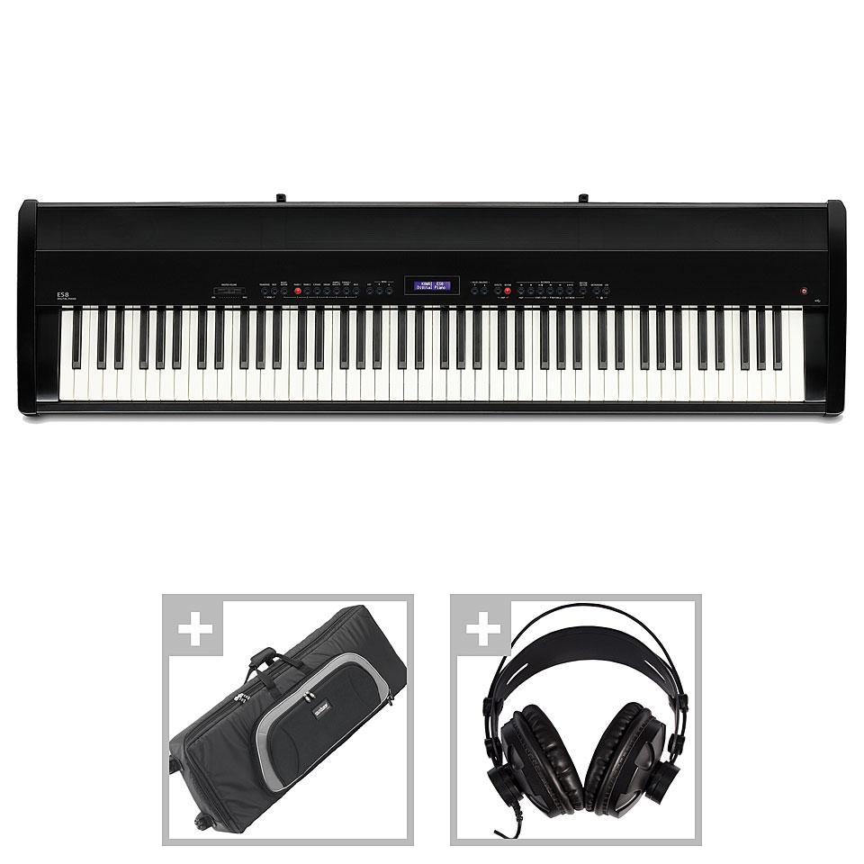 Stagepianos - Kawai ES 8 B Set II Stagepiano - Onlineshop Musik Produktiv