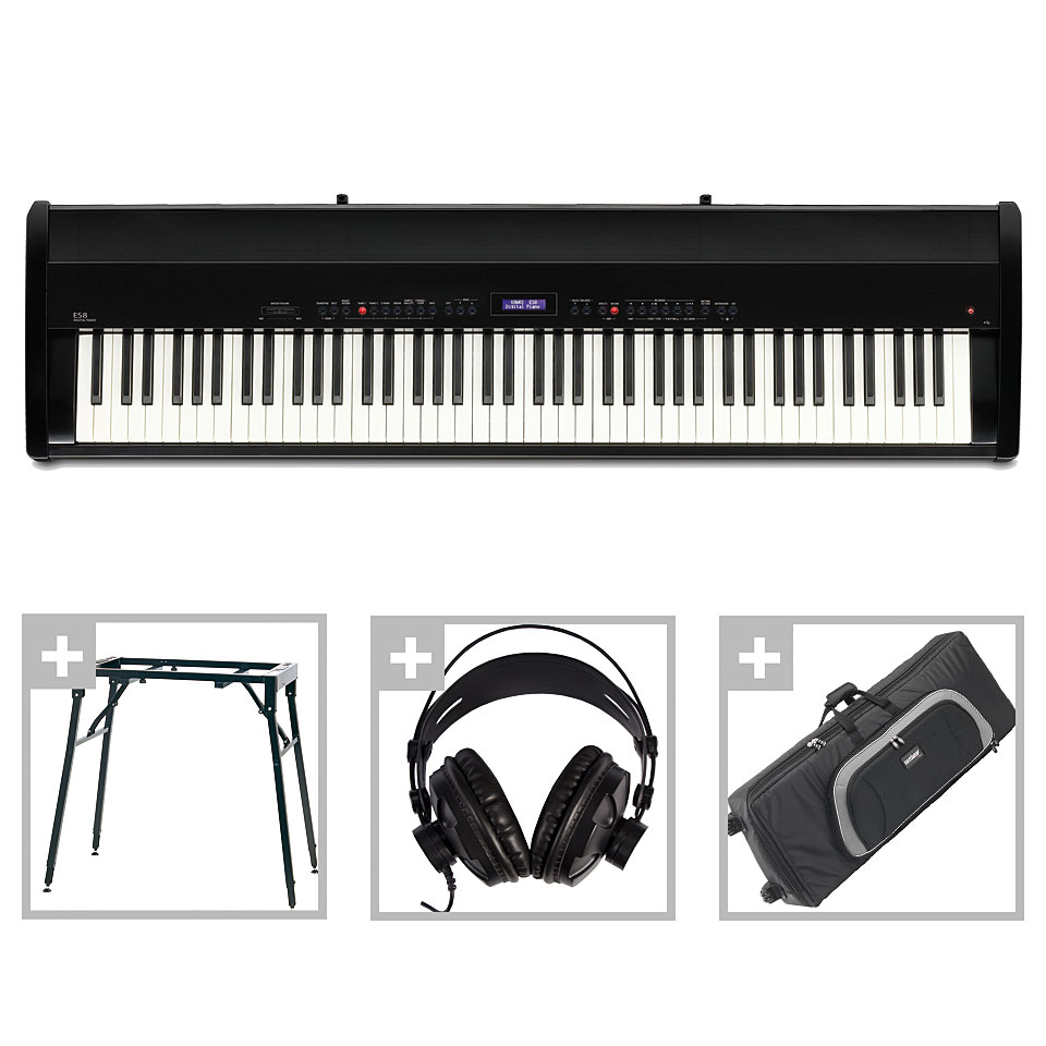 Stagepianos - Kawai ES 8 B Set III Stagepiano - Onlineshop Musik Produktiv