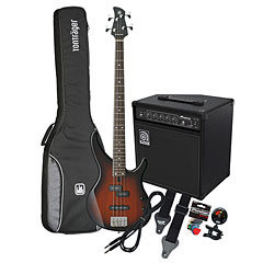 Yamaha TRBX 174 OVS / Ampeg BA-108 « Basgitaar Set
