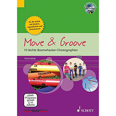 Schott Move & Groove - 10 leichte Boomwhacker-Choreographien « Instructional Book