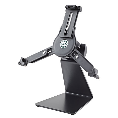 Mikrofonzubehör K&M 19792 Table Stand with Universal Tablet Holder