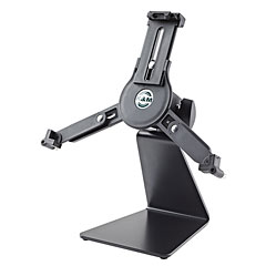 K&M 19792 Table Stand with Universal Tablet Holder « Accessoires microphone