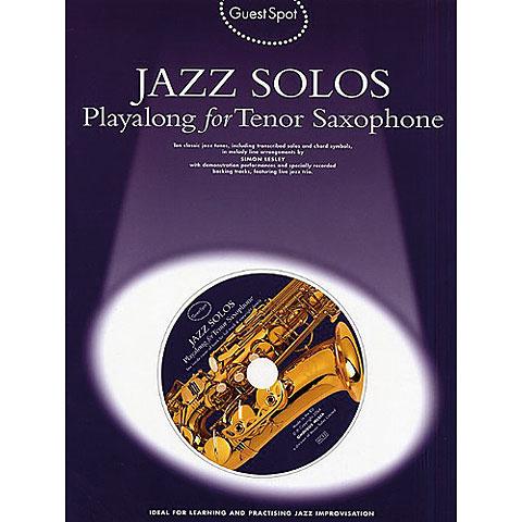 Music Sales Guest Spot Jazz Solos