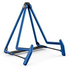 K&M 17580 A-guitar stand Heli 2 blue « Stand guitare/basse