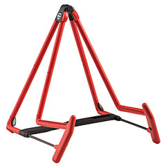 K&M 17580 A-guitar stand Heli 2 red « Instrument Stand