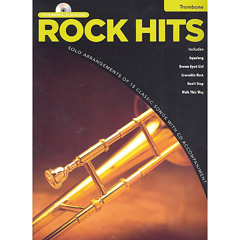 Hal Leonard Rock Hits for trombone