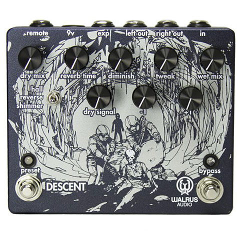 Effektgerät E-Gitarre Walrus Audio Descent