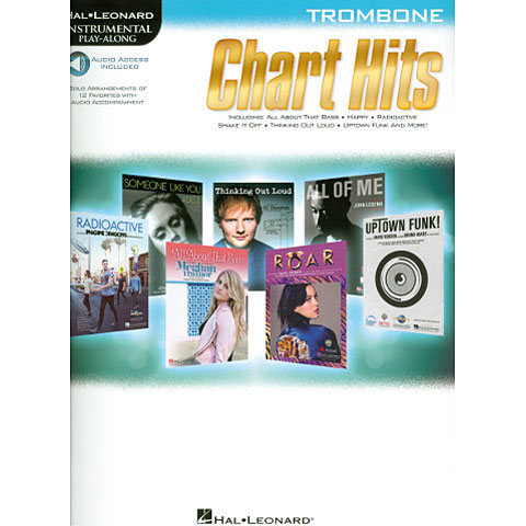 Hal Leonard Chart Hits for trombone