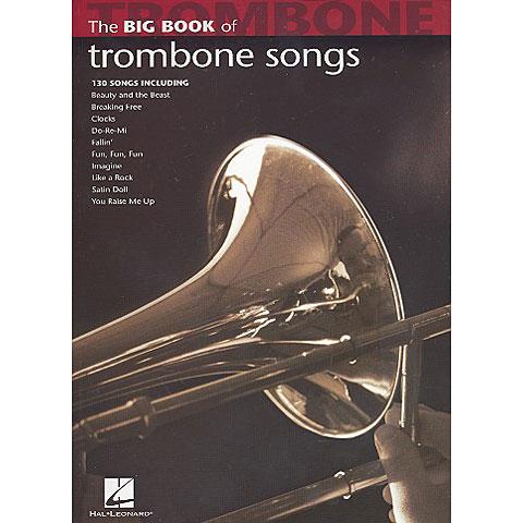 Recueil de Partitions Hal Leonard The Big Book of Trombone Songs