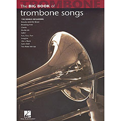 Hal Leonard The Big Book of Trombone Songs « Libro de partituras