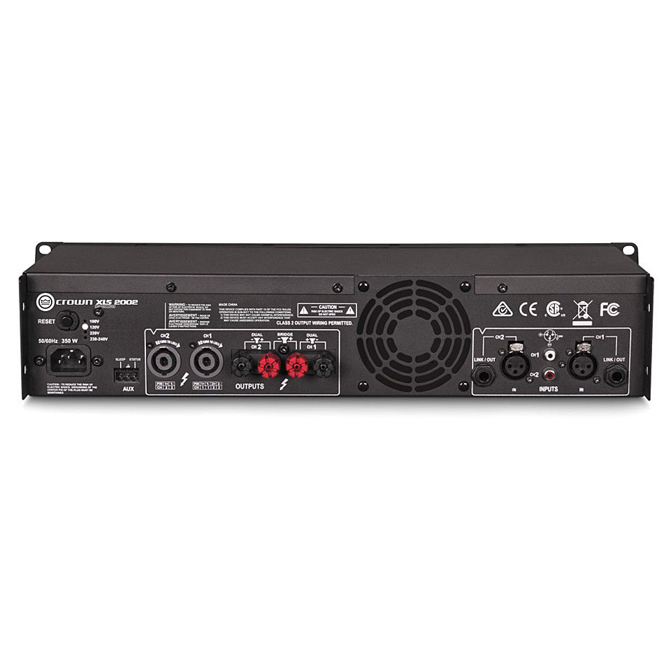 crown xls 2002 power amplifier. Black Bedroom Furniture Sets. Home Design Ideas