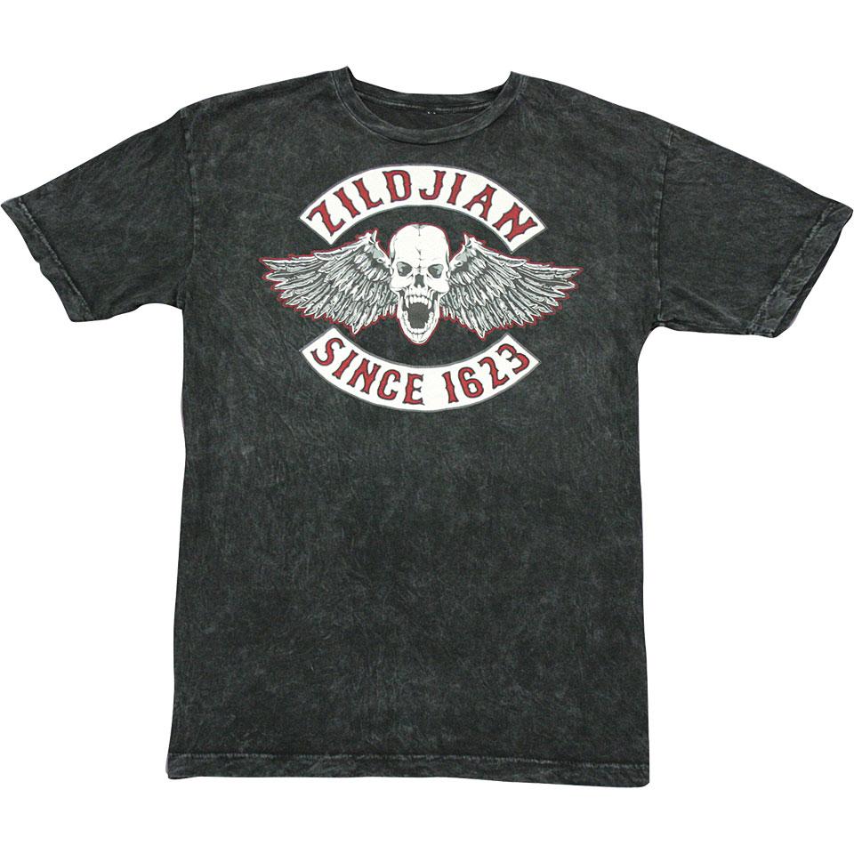 Zildjian Biker Logo Xxl 171 T Shirt