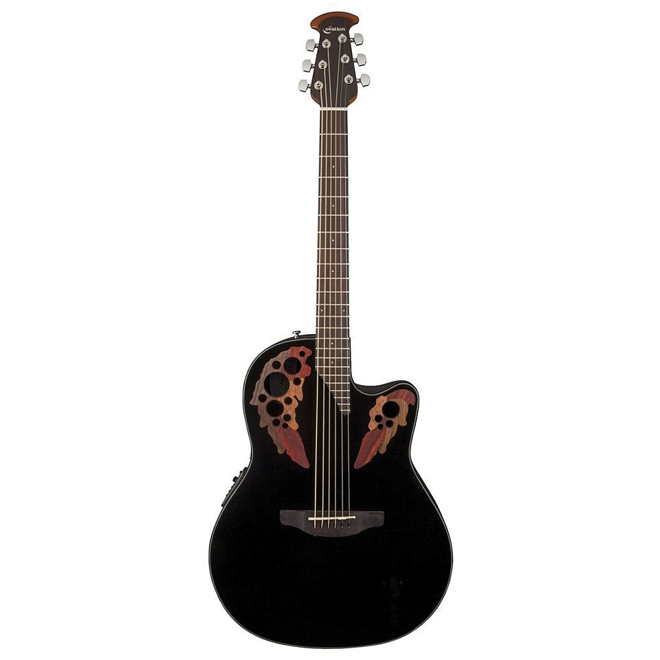 Ovation USA Dave Amato Viper Signature Acoustic Black ...