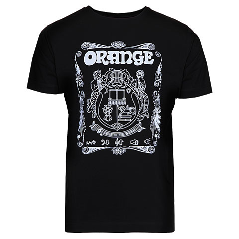 T-Shirt Orange T-Shirt Crest BLK M