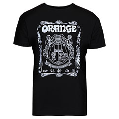 Orange T-Shirt Crest BLK M