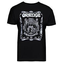 Orange T-Shirt Crest BLK M « Camiseta manga corta
